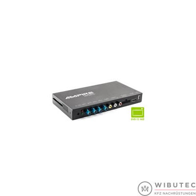 DVB-T2 HD Quad-Receiver