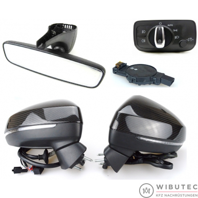 Interior and Exterior Mirrors