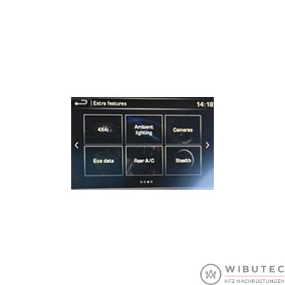 ...mit Touch-Screen Navigation (4. Generation)
