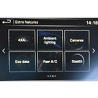 ...mit Touch-Screen Navigation (4. Generation)