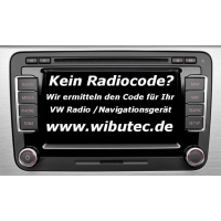 Radiocodeabfrage