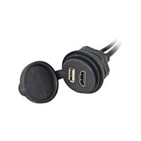 HDMI/USB Einbaubuchse
