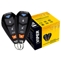 Entry level alarm system with two remote controls
