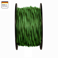 AMPIRE twisted cable GREEN / BLACK 1.5mm², 60m...