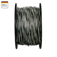 AMPIRE twisted cable GRAY / BLACK 1.5mm², 60m spool,...
