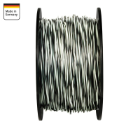 AMPIRE twisted cable WHITE / BLACK 1.5mm², 60m...