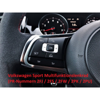 Retrofit kit GRA (cruise control system) VW Golf VII (from Facelift !!)