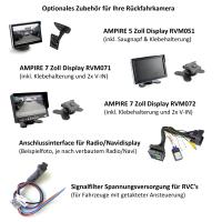 AMPIRE Rückfahrkamera für VW Crafter SY