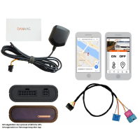 GSM remote control for VW T6 with existing additional...