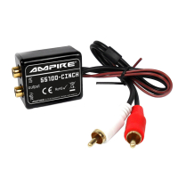 AMPIRE NF interference filter with cinch connection