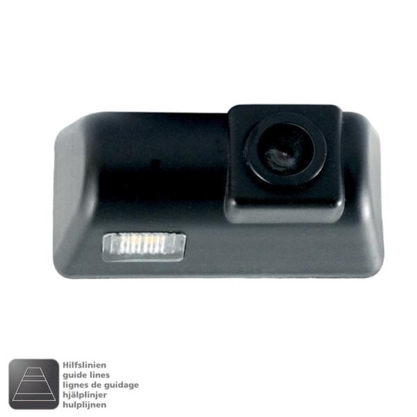 NAVLINKZ Griffleisten-Kamera FORD Transit ab 2009-2013, warm-weiße LED