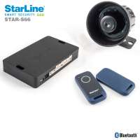 STARLINE CAN bus alarm system with WFS, GSM and 2 TAGs...