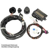 Retrofit kit detachable Westfalia towbar for Audi A4 8W B9