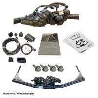 Retrofit kit swiveling original Audi trailer hitch for...