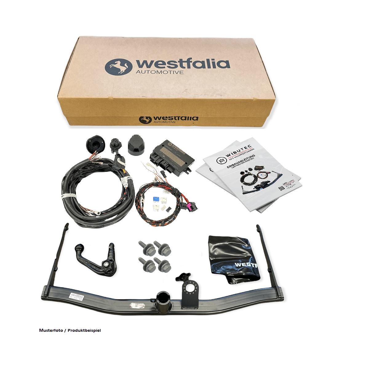 Nachrüstsatz Westfalia Anhängerkupplung für Skoda Praktika 5J