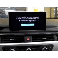 Activation document for the Audi smartphone interface in...
