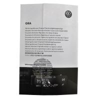 Nachrüstsatz GRA Geschwindigkeitsregelanlage VW T-Roc Typ A11 ohne verbautem Speedlimiter ab August 2018