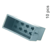 8 pin ISO power plug 10 pcs. Loose