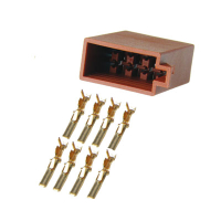 8-pin ISO LS plug with individual contacts
