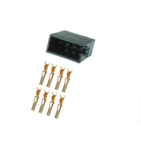 8 pin ISO power plug with single contacts