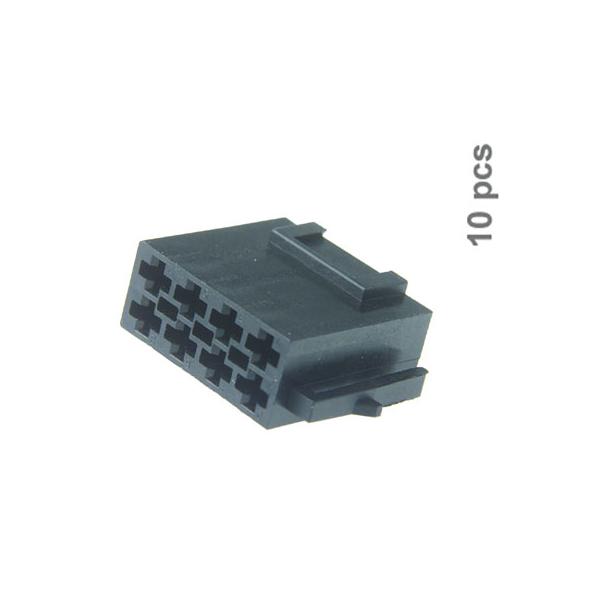 8 pol. ISO Strom-Buchse 10 Stk. Lose