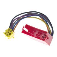 6-pin MINI-ISO socket to MINI-ISO plug for AUDI