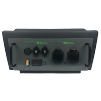 PowerBOXX meanwell electric module 230 volts for external power supply via shore power for VW T5 from 2004 and VW T6