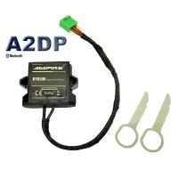 AUDI A1 8X streaming music via Bluetooth for RMC Radio...