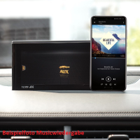AUDI A1 8X streaming music via Bluetooth Radio Chorus...