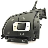 Multifunktionstasten 6C0959442A mit GRA Funktion für Lederlenkrad, zu verwenden für VW Polo 6C