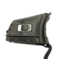 Multifunktionstasten 6C0959442C mit GRA Funktion für Sport-Lederlenkrad, zu verwenden für VW Polo 6C GTI