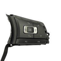 Multifunction buttons 6C0959442C with GRA function for sport leather steering wheel, to be used for VW Polo 6C GTI