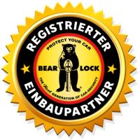 Nachrüstung Bear-Lock Lenksäulensperre für VW T5 Automatik 2003-2015