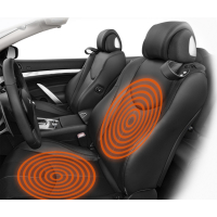 AMPIRE seat heating, split lengthways, 2-stage...