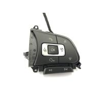Retrofit kit GRA - cruise control system VW Sharan type 7N via multifunction steering wheel from 05/2015 (facelift model)