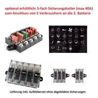 Umrüstset auf Zweitbatterie für Volkswagen T6.1 ab Modelljahr 2020