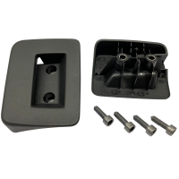 Fastening device for roller blind loading space VW T5...