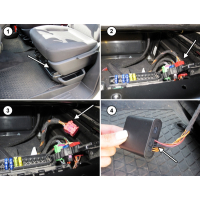 Plug & Play upgrade kit from auxiliary heater to auxiliary heater for VW T6.1