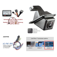 Retrofit kit rear view camera for Land Rover Discovery 4...