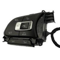 Multifunktionstasten 5TA959442A mit GRA & Speedlimiter Funktion, zu verwenden für VW Tiguan AD1 BW2 und Touran 5T