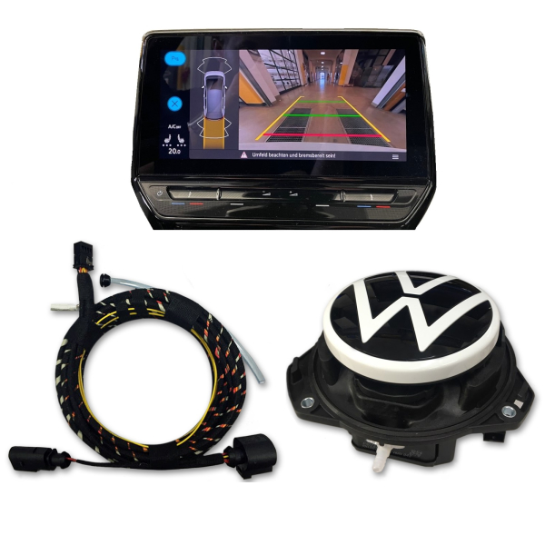 VW ID.3 reversing camera / Rear View retrofit package, high version with dynamic guide lines
