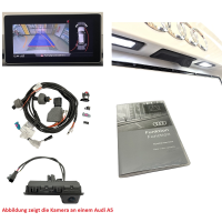AUDI Q7 4M rear view camera FACELIFT retrofit package