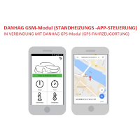 GSM remote control for VW T6 with existing auxiliary air heating with remote control ex works - special item