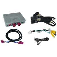 Interface for connecting a rear view camera in the Jaguar...