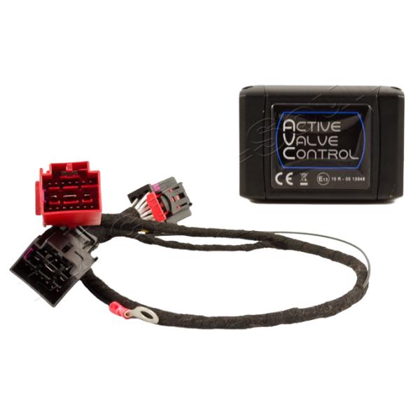 Control del sistema de escape de aleta AUDI RSQ3 F3 a través de drive select AVC con SSAM