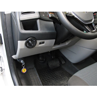 Retrofitting Bear-Lock gear shift lock in VW T6 with manual gearbox (manual gearbox)