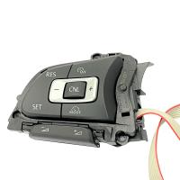 Multifunktionstasten 5G0959442J mit GRA Funktion für Lederlenkrad, zu verwenden für VW Golf 7, Passat 3G, Arteon 3H, Crafter SY
