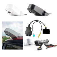 Retrofit kit for rear view camera for roof including installation kit for VW Crafter 2E with RSD4000 RNS6000 navigation system