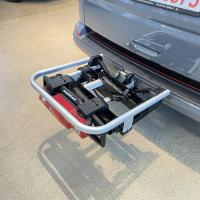 Uebler I21 Fahrradträger AHK Kupplungsträger 90° abklappbar für 2 Fahrräder
