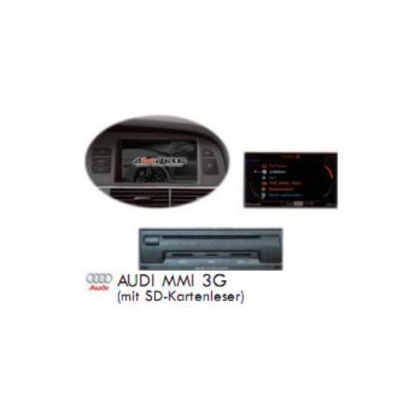 Audi MMI 3G Navigation Plus Update - US >>> EU